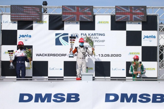 FIA Karting European Championship - Antonelli and Ugochukwu: European Champions!