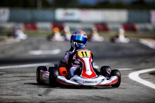 Kai Sorensen continues his positive streak at the Italian Championship