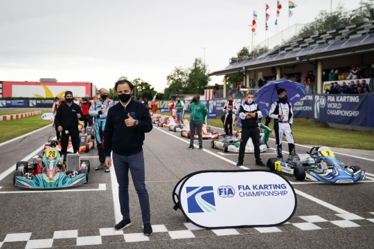 Felipe Massa: «The World Championship should give a positive image of kart racing»