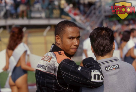 Lewis Hamilton, seven times in history