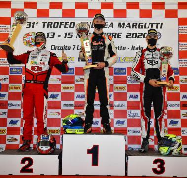 Luca Bosco returns to podium at Trofeo Margutti