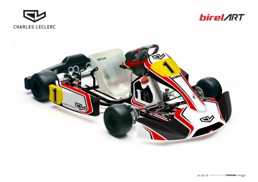 Charles Leclerc launches his frame brand with Birel ART!
