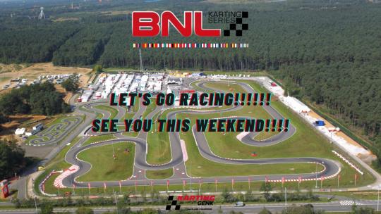 BNL Karting Series Kick-Off in Genk, now it's official!