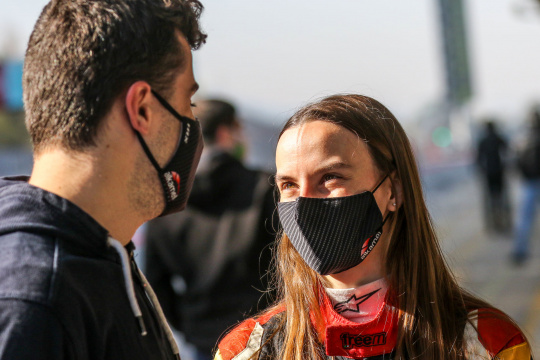 Belen Garcia on track for first Formula Regional rounds