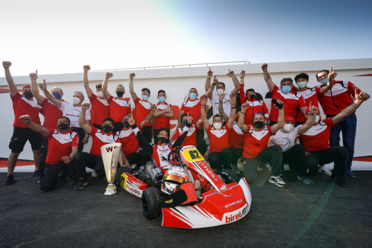 Superb victory for Kremers in Sarno