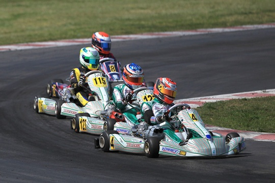 1st ROUND. EUROPEAN CHAMPIONSHIP FOR KZ AND KZ2 IN FRANCE