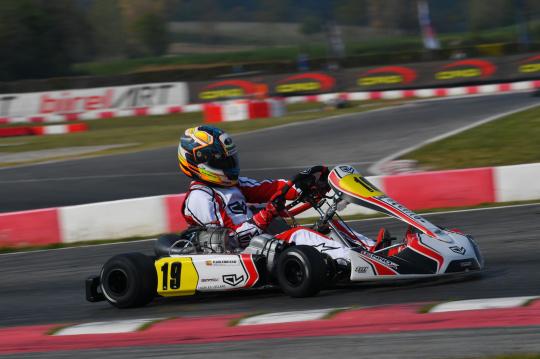 KZ: Pedro Hiltbrand with Lennox Racing