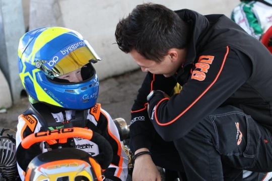 Scott Lindblom, the heir of a racing family