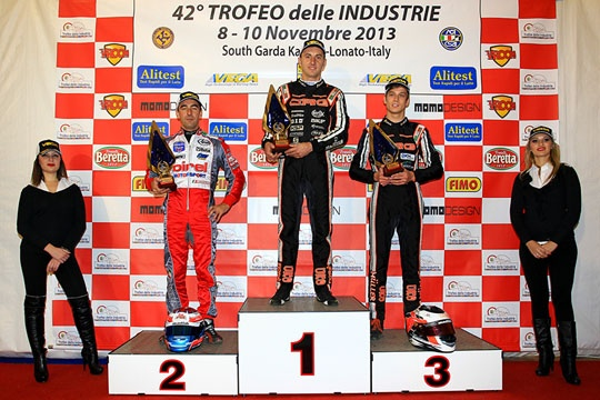 DAVIDE FORE' ON CRG-TM IS THE ABSOLUTE WINNER OF THE 42ND TROFEO DELLE INDUSTRIE