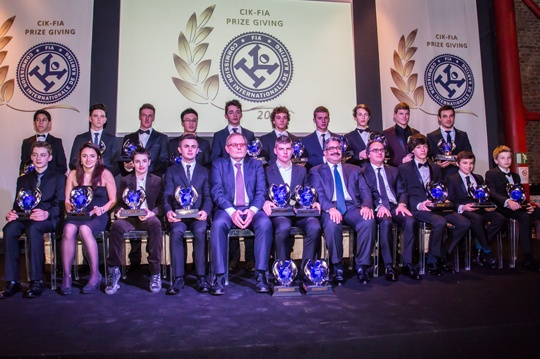 CIK-FIA awards 2013 champions