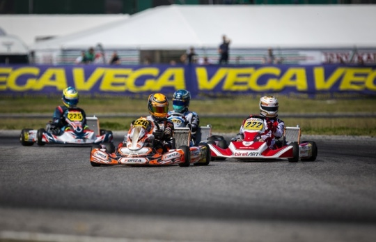 Unlucky start for the Team in the WSK Euro Series
