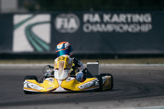 Mark Kastelic very competitive in the second round of the FIA Academy Trophy