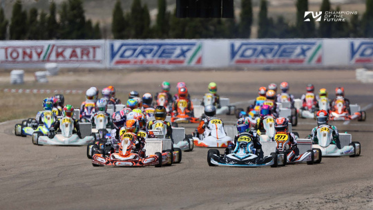 RGMMC, Champions Of The Future - Antonelli and Kutsov on top in Spain