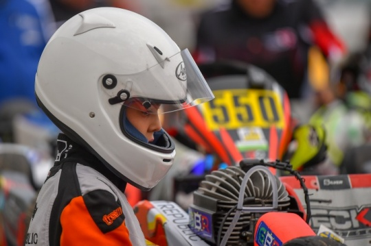 Enzo Bettamio's ready for the French round of the WSK Euro Series