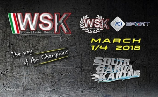 WSK Super Master Series - The Lonato stage has been canceled
