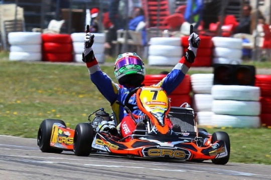 CRG to the fore in the Spanish Championship