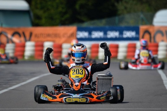 Good performance for CRG drivers  in DKM at Wackersdorf