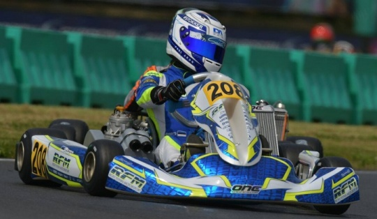 Kart GP Germany - Janker and Aron the fastest on Friday