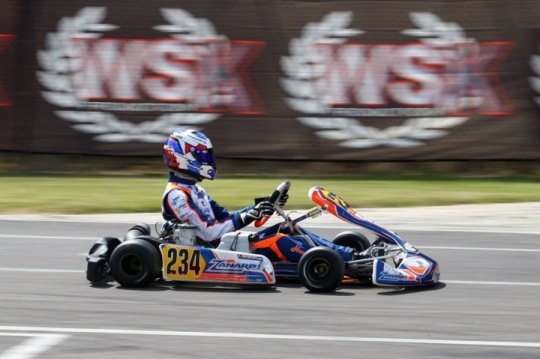 Nice podium for Haverkort in OK  at the WSK Open Cup in Lonato