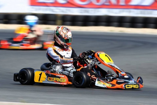 CRG ready for the final charge to the European Championship in Lonato