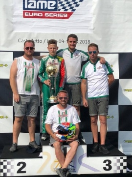 IAME Euro Series 2018, Kimber: «I am happy with the result, now I'm ready for the International Final»