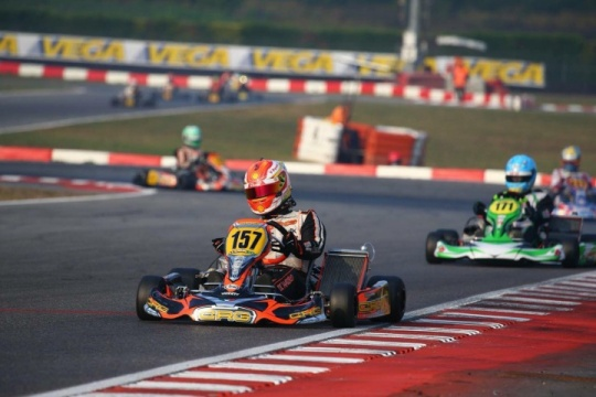 CIK FIA - Gaetano Di Mauro: «I'm concentrated on getting a good weekend in Genk»