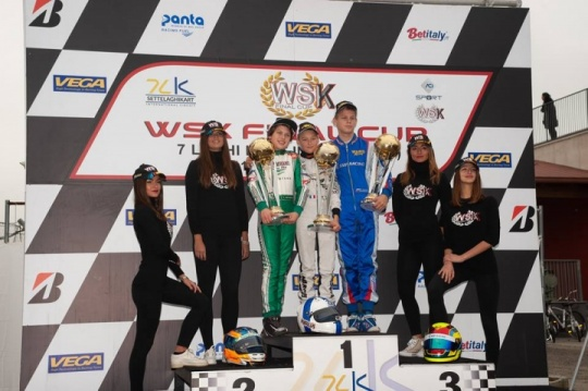 WSK Final Cup - Report round 2