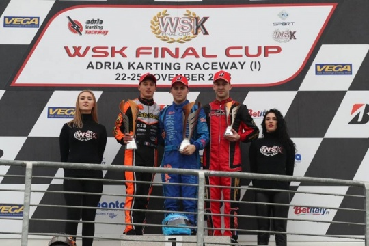 Denner and Haverkort vice-Champions of WSK Final