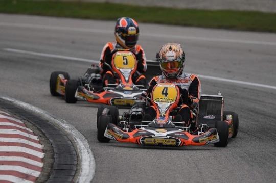 CRG and De Conto on the podium of KZ in Macau