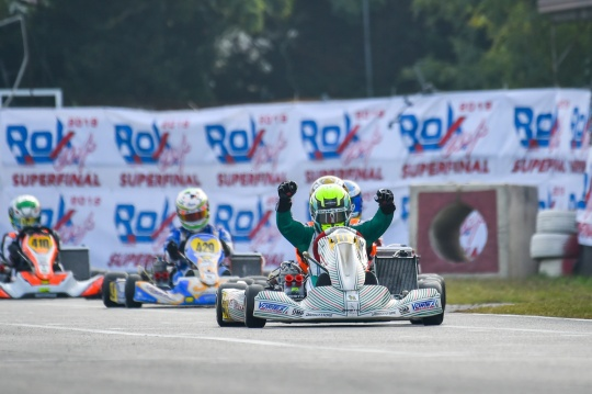 Manetti Motorsport is Rok World Champion with Luca Bosco!