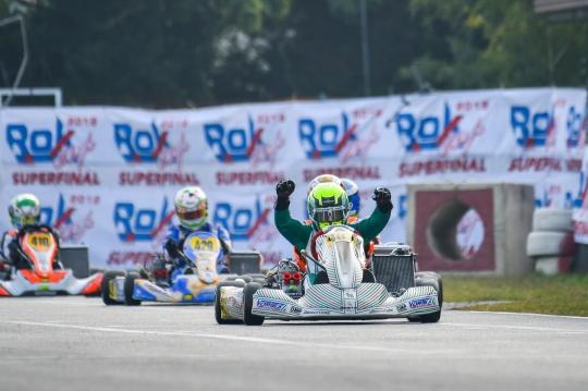 Manetti Motorsport is Rok World Champion with Luca Bosco!