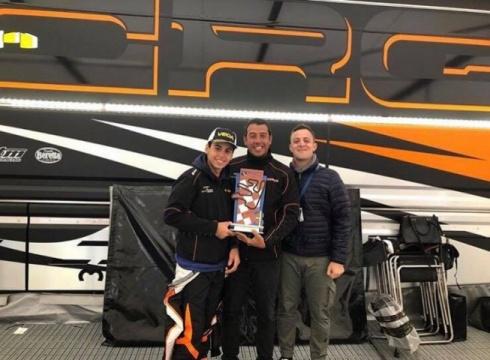 Gabriel Bortoleto opens 2019 with the Winter Cup