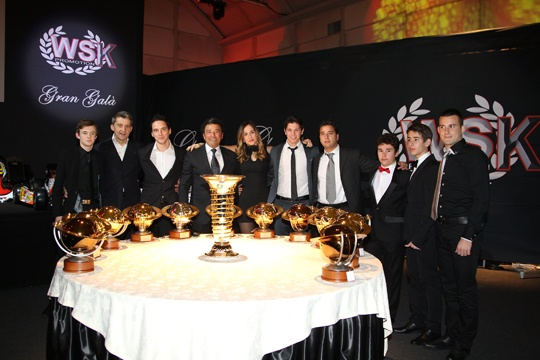 """CRG, MAX VERSTAPPEN """"DRIVER FOR THE YEAR"""" AT THE WSK GRAN GALA'"""