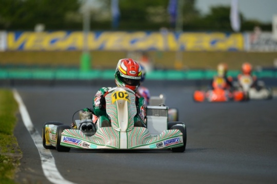 Vortex on the podium on the occasion of the british European Championship for OK and OKJ