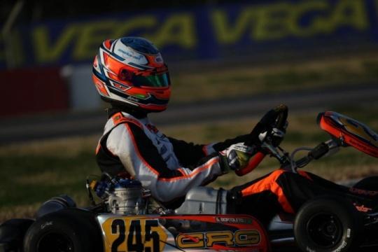 Gabriel Bortoleto convincing in the first round of the FIA European Championship