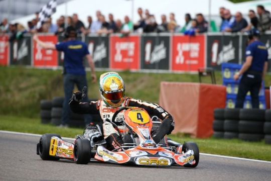 SECOND SPLENDID VICTORY FOR CRG AND DE CONTO IN THE KZ EUROPEAN CHAMPIONSHIP