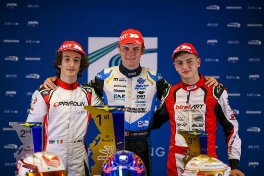 FIA Euro, Kristianstad: Travisanutto wins in OK, Day - surprise - in Junior