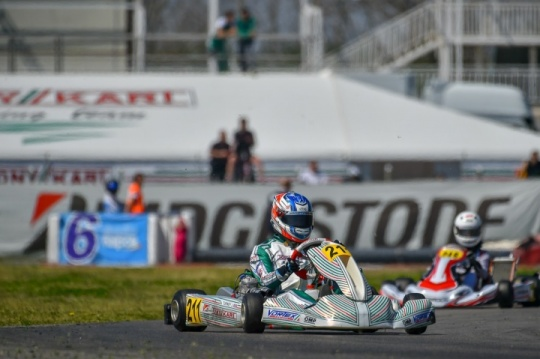 The Tony Kart Racing Team towards the OK and OK-Junior European Championship in Angerville