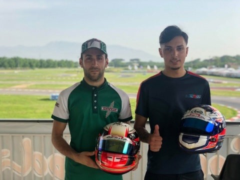 CIK Euro, Sarno: Camplese, Palomba and Ho in pole position