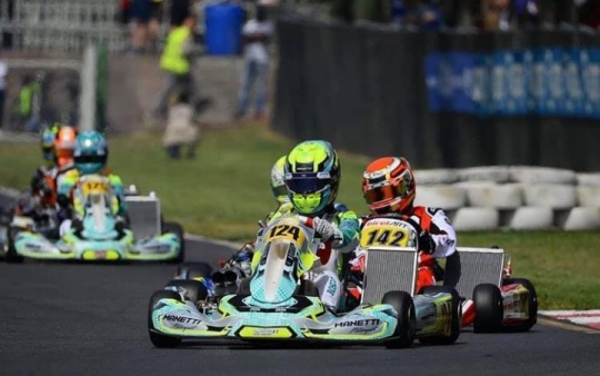 Manetti Motorsport closes Euro Series KZ2