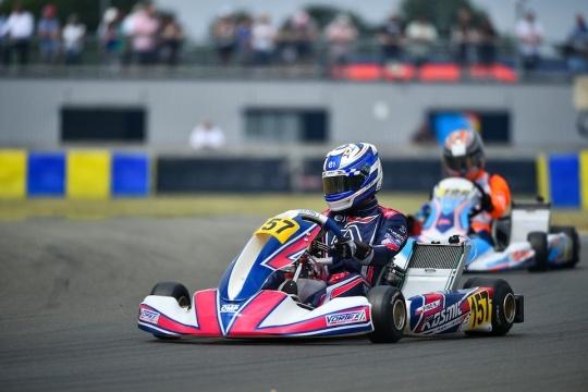 Kosmic Kart OKJ European Champion in Le Mans