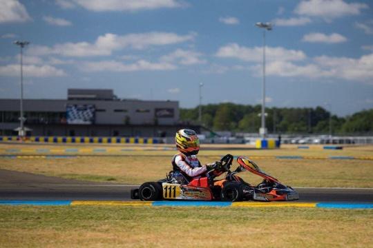 Gabriel Bortoleto concludes 2019 European Championship