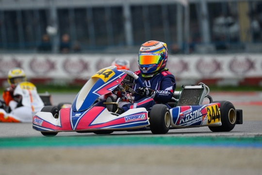 Intense WSK Final Cup in the rain