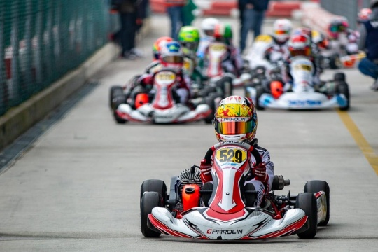 Khavalkin in Lonato to continue the assault on the WSK