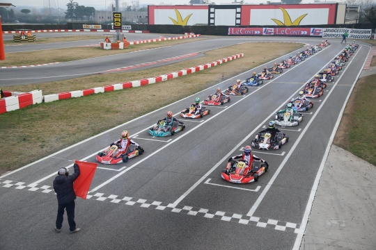 The WSK Super Master Series returns to the scene this weekend