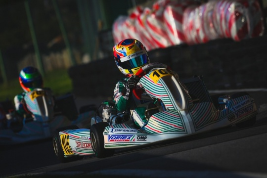 CIK World, Alaharma - Minì and Bedrin on pole