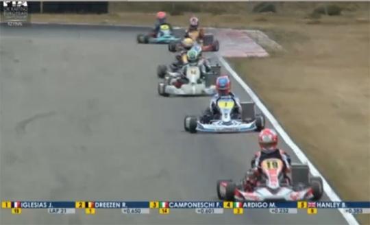 Camponeschi (KZ) and Johansson (KZ2) crowned European Champions in Genk