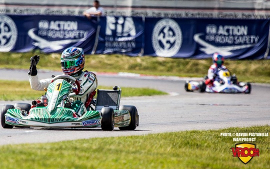 Ardigò (KZ) and Dalé (KZ2) on top at the Euro opener in Genk