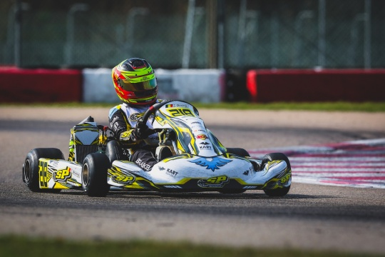 Braeken ready for his OKJ debut at the WSK Super Master Series in Adria