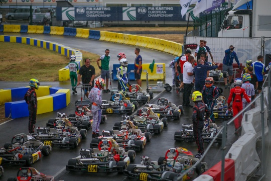 The 2020 FIA Karting OK World Champ will be placed in…